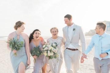 Intimate Southern Boho Beach Wedding in Charleston – Ava Moore Photography 8