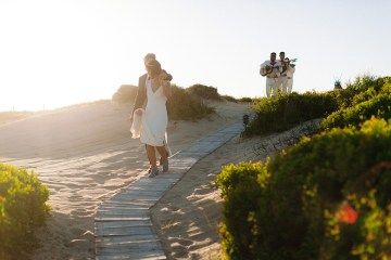 Real Bride Diary – Wildly Fun and Intimate Baja Beach Wedding of Claire Eliza and Jack – Corinne Graves 19