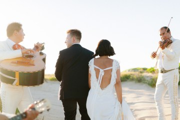 Real Bride Diary – Wildly Fun and Intimate Baja Beach Wedding of Claire Eliza and Jack – Corinne Graves 20