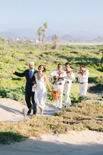 Real Bride Diary – Wildly Fun and Intimate Baja Beach Wedding of Claire Eliza and Jack – Corinne Graves 60
