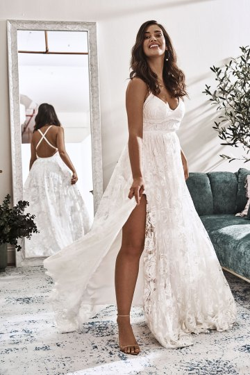 10 Reasons You Should Shop for Your Wedding Dress at The Grace Loves Lace NYC Boutique – Megan Gown 2