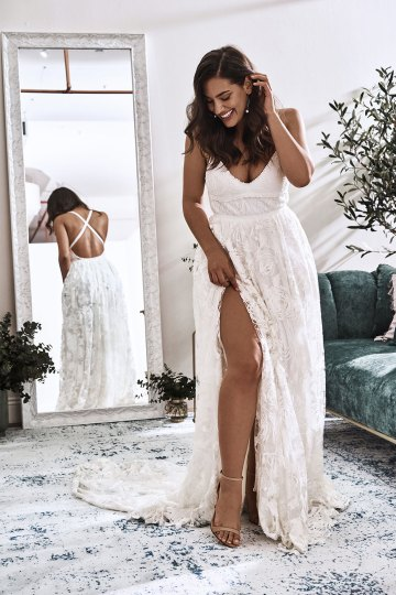 10 Reasons You Should Shop for Your Wedding Dress at The Grace Loves Lace NYC Boutique – Megan Gown 3