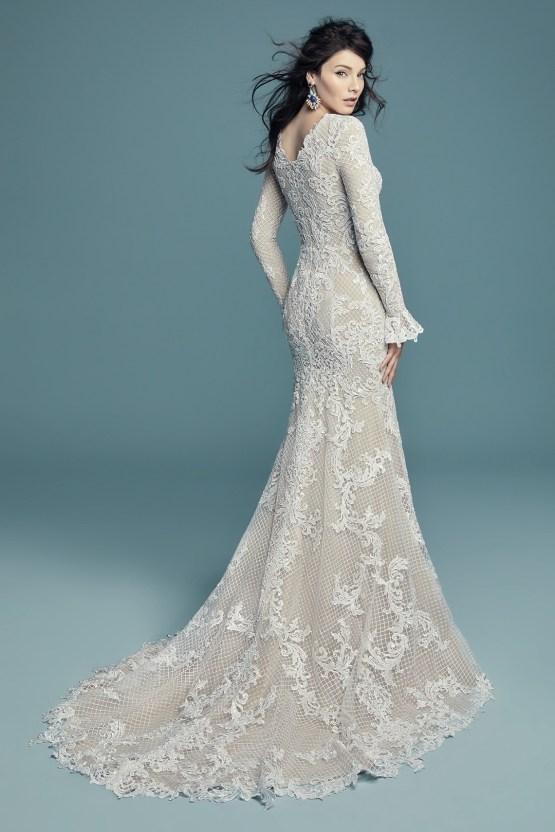 Dream Maggie Sottero Long Sleeve Wedding Dresses – Maggie Sottero Hailey Lynette 3