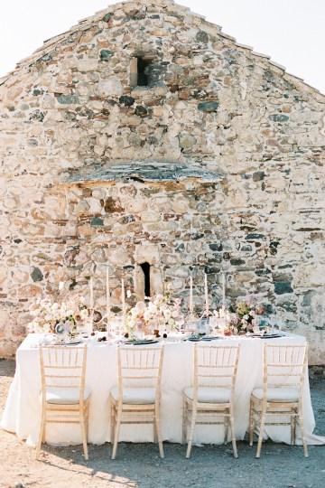 Luxurious Wedding Inspiration From An Ancient Greek Chapel – Nina Wernicke 26