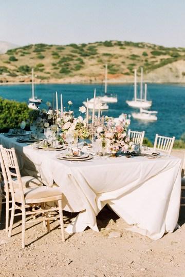 Luxurious Wedding Inspiration From An Ancient Greek Chapel – Nina Wernicke 27