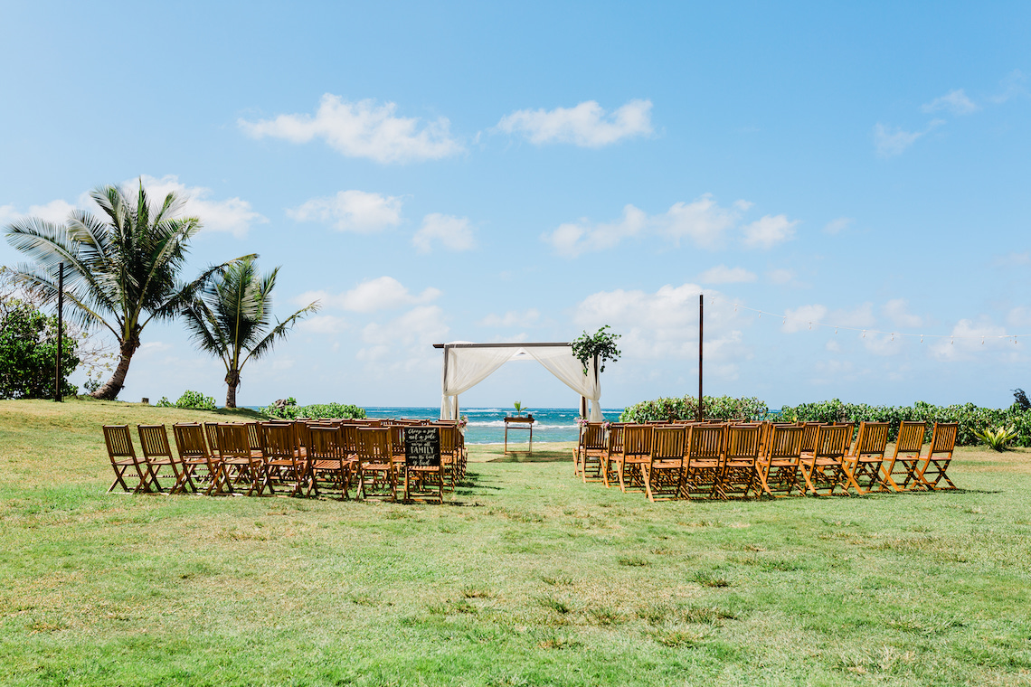 Playful and Intimate North Shore Oahu Beach Wedding – Chelsea Stratso Photography 1