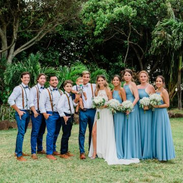 Playful and Intimate North Shore Oahu Beach Wedding – Chelsea Stratso Photography 3