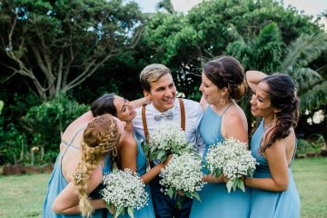 Playful and Intimate North Shore Oahu Beach Wedding – Chelsea Stratso Photography 5