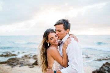 Playful and Intimate North Shore Oahu Beach Wedding – Chelsea Stratso Photography 9