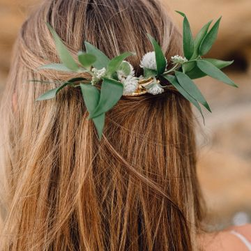 Romantic Same Sex Beach Elopement Inspiration in Earth Tones – Kalon Weddings Photography – Chloe Nicole Weddings 29