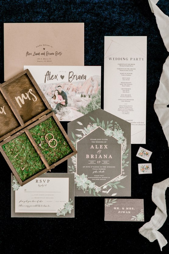 Rustic Succulent Filled Colorado Wedding With A Pretzel Bar – Sara Lynn 2