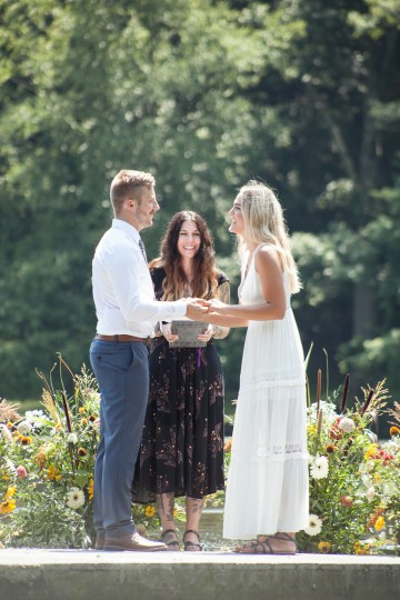 Wildflower Elopement In The Middle Of A Lake – White Poppy Weddings 18