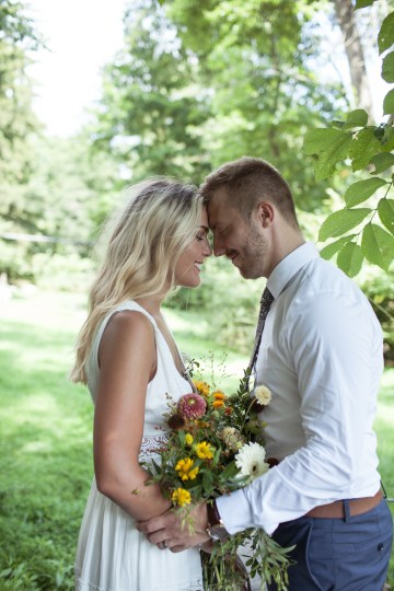 Wildflower Elopement In The Middle Of A Lake – White Poppy Weddings 22