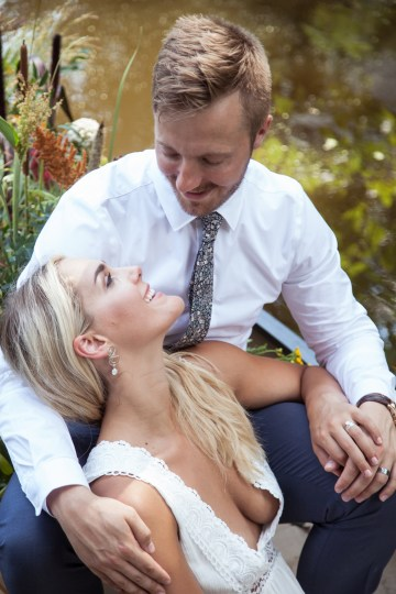 Wildflower Elopement In The Middle Of A Lake – White Poppy Weddings 8
