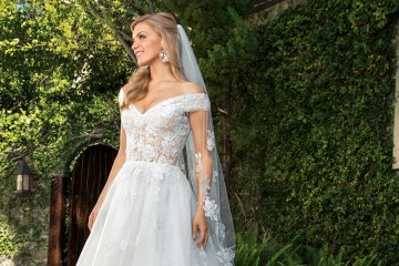 6 Stunning Lace Wedding Dresses By Casablanca Bridal – cover 2361 Anabelle-FRONT