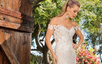6 Stunning Lace Wedding Dresses By Casablanca Bridal