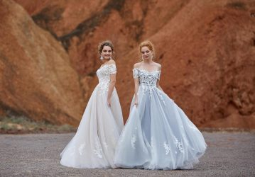 Affordable and Absolutely Showstopping Wedding and Bridesmaid Dresses By CocoMelody – Lily White 1