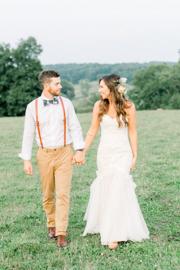Eclectic Detail-filled Ohio Farm Wedding with a Donut Wall and Espresso Cart – Mandy Ford Photography 36