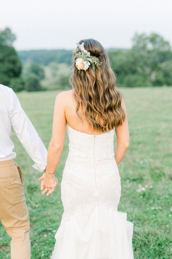 Eclectic Detail-filled Ohio Farm Wedding with a Donut Wall and Espresso Cart – Mandy Ford Photography 37