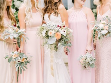 Eclectic Detail-filled Ohio Farm Wedding with a Donut Wall and Espresso Cart – Mandy Ford Photography 6