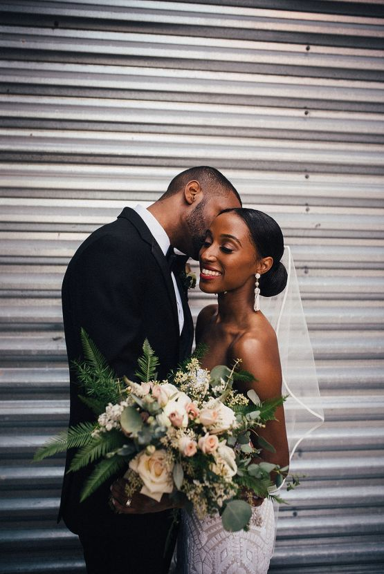 Glamorous and Industrial North Carolina Loft Wedding – Three Region Photography 23