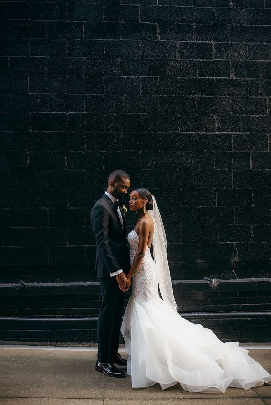 Glamorous and Industrial North Carolina Loft Wedding – Three Region Photography 25