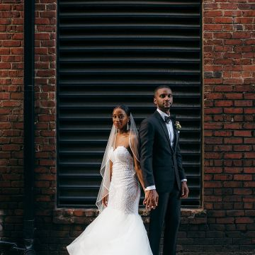 Glamorous and Industrial North Carolina Loft Wedding – Three Region Photography 26