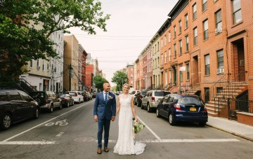Industrial Chic Brooklyn Winery Wedding
