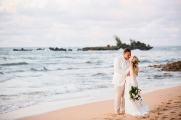 Relaxed Hawaiian Beach Wedding With Our Dream Rue De Seine Boho Wedding Dress – Absolutely Loved Photography 2