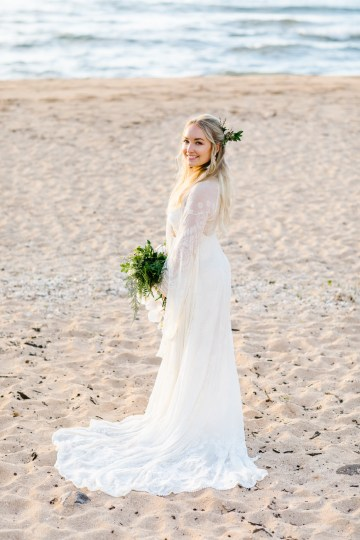 Relaxed Hawaiian Beach Wedding With Our Dream Rue De Seine Boho Wedding Dress – Absolutely Loved Photography 30