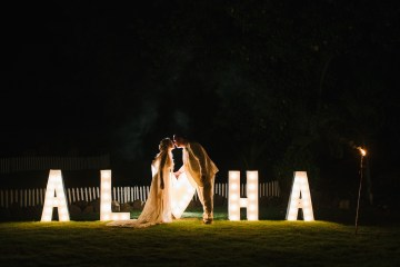 Relaxed Hawaiian Beach Wedding With Our Dream Rue De Seine Boho Wedding Dress – Absolutely Loved Photography 9