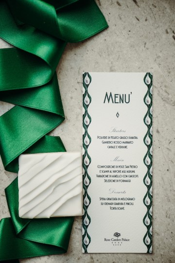Sleek and Sexy Modern Wedding Inspiration in Emerald – Marcella Cistola 43