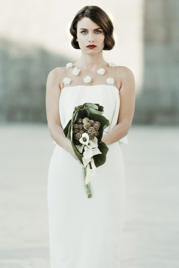Sleek and Sexy Modern Wedding Inspiration in Emerald – Marcella Cistola 9