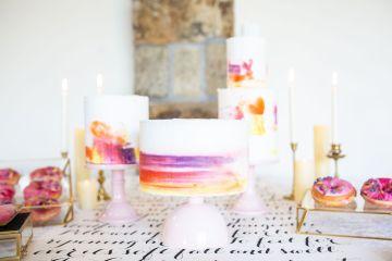 Vibrant Blossom Barn Wedding Inspiration With Creative Dessert Ideas – Deluxe Blooms – Natasha Cadman Photography 2