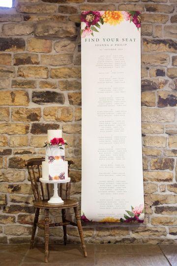 Vibrant Blossom Barn Wedding Inspiration With Creative Dessert Ideas – Deluxe Blooms – Natasha Cadman Photography 34