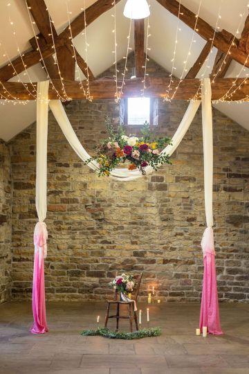 Vibrant Blossom Barn Wedding Inspiration With Creative Dessert Ideas – Deluxe Blooms – Natasha Cadman Photography 36