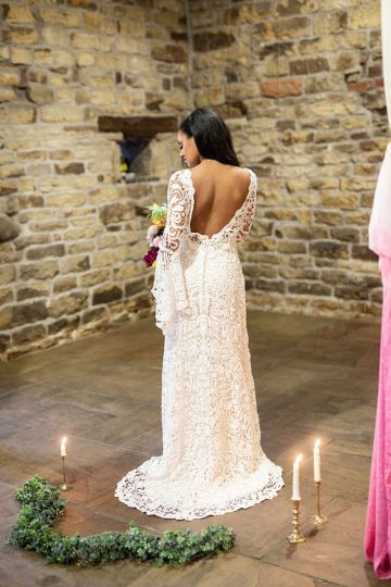 Vibrant Blossom Barn Wedding Inspiration With Creative Dessert Ideas – Deluxe Blooms – Natasha Cadman Photography 37