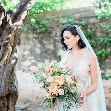 Whimsical Romantic Wedding Inspiration With Grace Kelly Vibes – Fiorello Photography 37