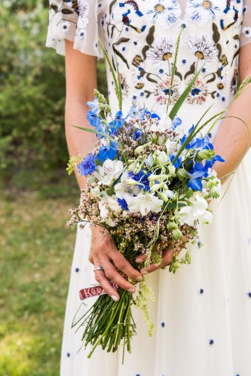 Wildflower Wedding With A Colorful Floral Wedding Dress – Jessica Grace Photography 43