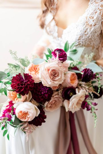 Beautiful Burgundy Hindu Fusion Wedding – Danielle Harris Photography 19