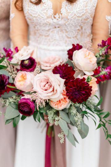 Beautiful Burgundy Hindu Fusion Wedding – Danielle Harris Photography 24