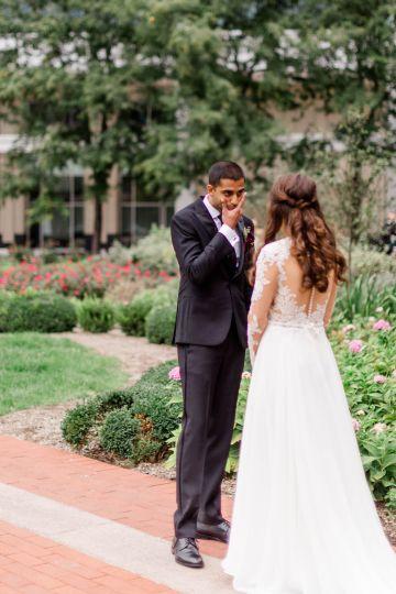 Beautiful Burgundy Hindu Fusion Wedding – Danielle Harris Photography 29
