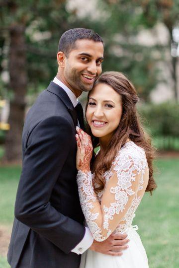 Beautiful Burgundy Hindu Fusion Wedding – Danielle Harris Photography 43