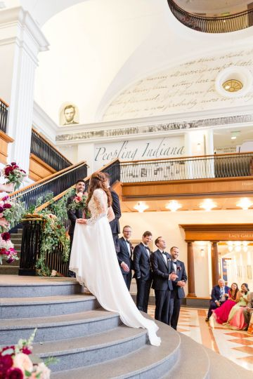 Beautiful Burgundy Hindu Fusion Wedding – Danielle Harris Photography 46