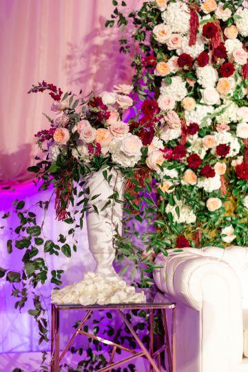 Beautiful Burgundy Hindu Fusion Wedding – Danielle Harris Photography 60