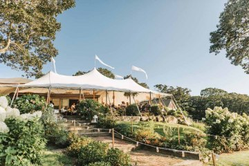 Cheery Marthas Vineyard Summer Wedding – Lena Mirisola Weddings 60