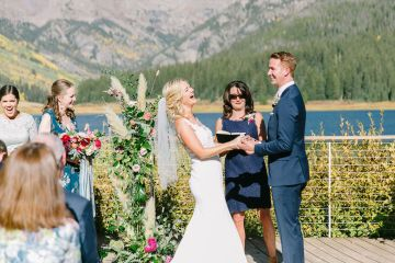Colorful Colorado Wedding with Stunning Mountain Views – Callie Hobbs – Banks and Leaf 2