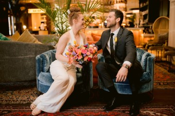 Colorful Retro Elopement Inspiration – Hope Helmuth Photography 12