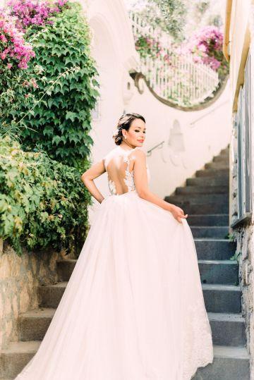 Dramatic Breathtaking Positano Destination Wedding – Lace and Luce Photography 14