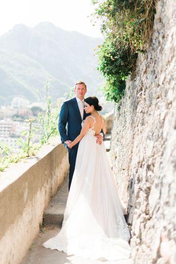 Dramatic Breathtaking Positano Destination Wedding – Lace and Luce Photography 15